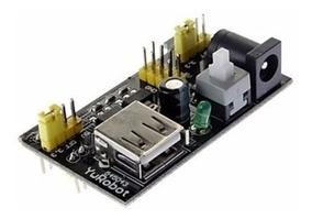 Módulo Fonte De Alimentação 3.3v 5v P/ Protoboard Arduino