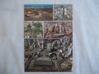 Kit Lote 2 Cartão Postal Belo Horizonte-mg Em Branco Antigo