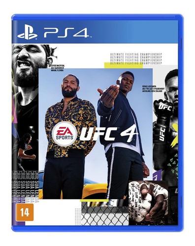 Lancamento Ps4 Ufc4 Novo Original Playstation 4 Nfe Garantia