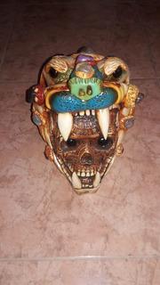 Cabeza De Jaguar Pactada Y Poseída Con Lucifer Cumple Deseos