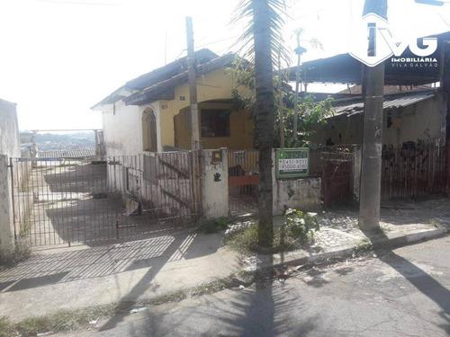 Imagem 1 de 3 de Terreno À Venda, 300 M² Por R$ 450.000,01 - Jardim Vila Galvão - Guarulhos/sp - Te0214