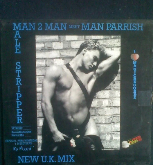 Man 2 Man Male Striper Disco Vinil Nacional 80