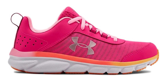 Zapatillas Under Armour Running Ua Gs Assert 8 Niña Fu/na