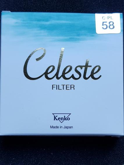 Filtro Kenko Celeste 58mm Circular Polarizante Top