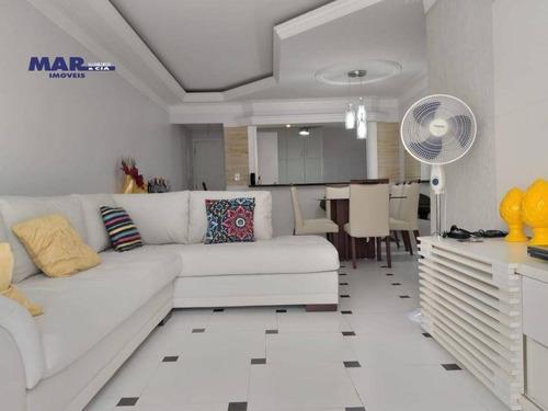 Imagem 1 de 18 de Apartamento Residencial À Venda, Barra Funda, Guarujá - . - Ap11099