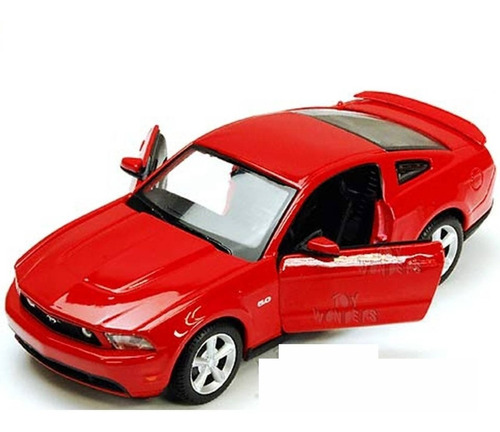 Auto Ford Mustang Gt 2011 Rojo Coleccion Showcast 1:24 St