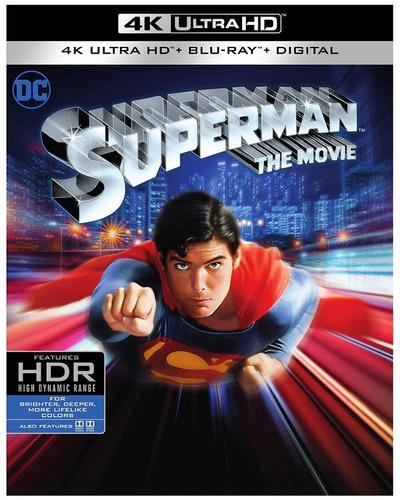 4k Ultra Hd + Blu-ray Superman The Movie (1978)