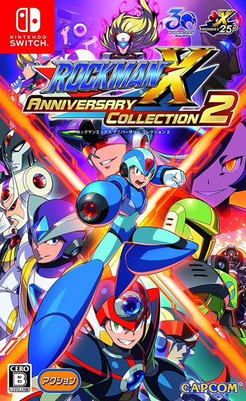 Mega Man X Anniversary Collection 2 - Switch - Midia Fisica!