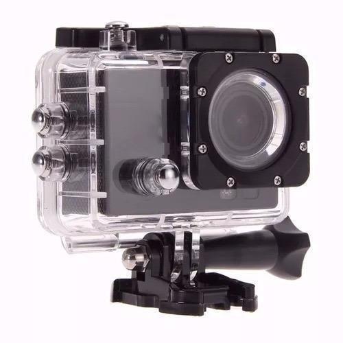 Câmera E Filmadora Hd Action Cam Go Pro Full A Prova D
