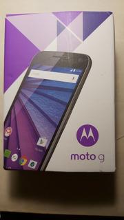 Celular Motorola Moto G3 - 3a. Generación - Xt 1542 - Impecable