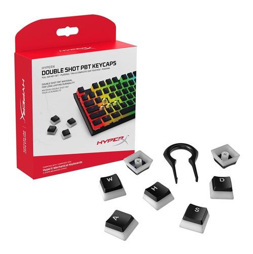 Set 104 Teclas Hyperx Pudding Keycaps Double Shot Pbt Cuotas