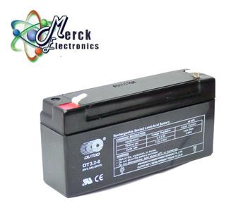Batería 6v 3.2ah Seca Recargable