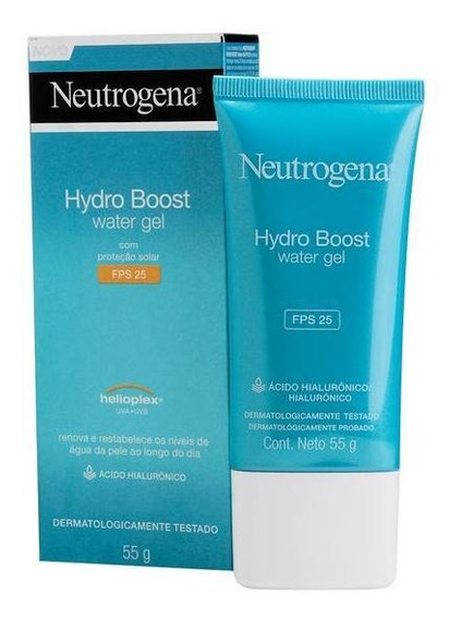 Gel Hidratante Facial Neutrogena Hydro Boost Water Fps 25