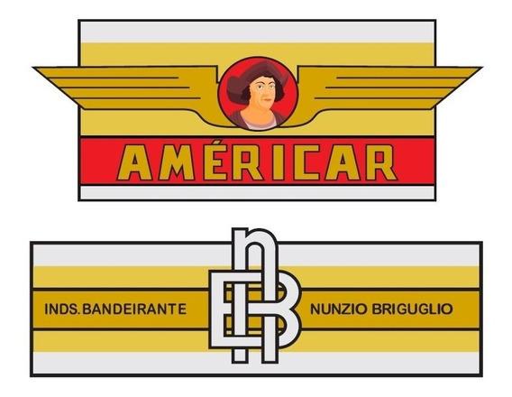 Adesivos Para Antigo Triciclo Bandeirante - Americar