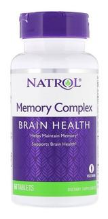 Brain Health, Importado, P/ Memória E Cognitivo - 60 Tabs