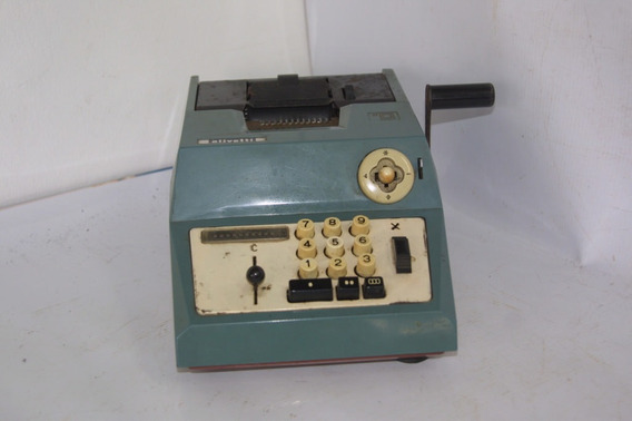 Calculadora Antiga Olivetti Anos 70
