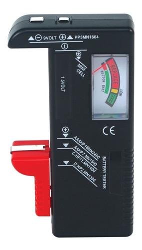 Probador Universal Baterias Pilas Aa Aaa C D 9v 3v Boton
