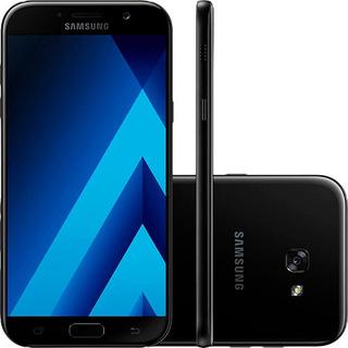 Samsung Galaxy A7 2017 32gb - Preto - Produto Usado!
