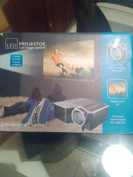 Mini Video Beam Projector Led