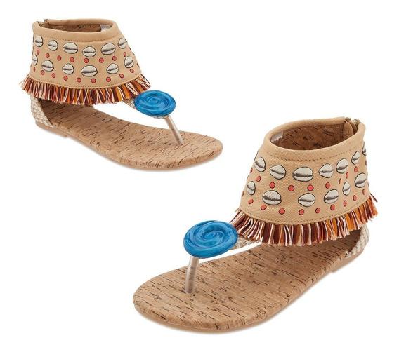 Sandalias Zapato Talla 11-12 Moana Disfraz Disney S