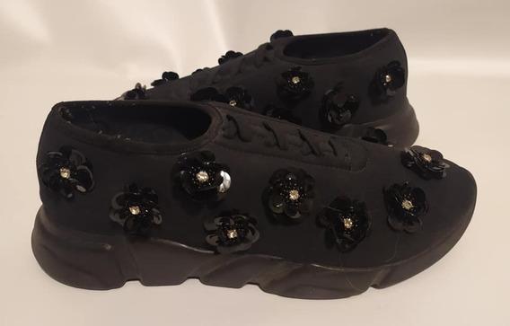 Zapatillas De Mujer Paruolo Talle 39 - 26cm De Plantilla