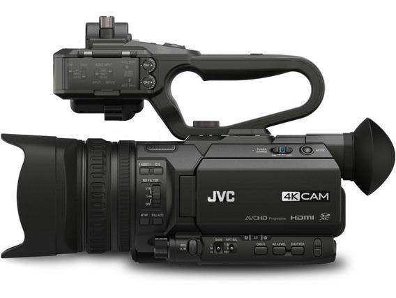 Filmadora 4k Jvc Gy Hm170u 236 Horas Uso Filtro Uv 3baterias