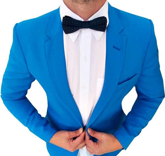 Terno Slim Masculino Social Eventos De Luxo Blazer Calça