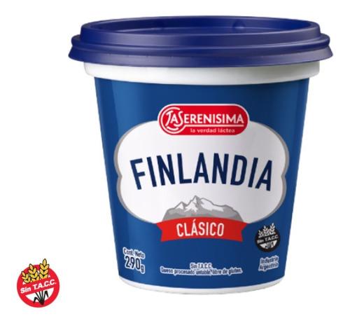 Imagen 1 de 5 de Queso Crema Finlandia Clasico X 290gr