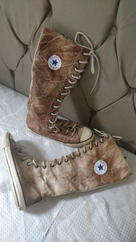 Sapatos Tênis de Mulher Converse Marrom com o Melhores