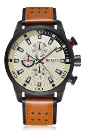 Relógio Curren 8250 Masculino Esportivo Promoção Homens