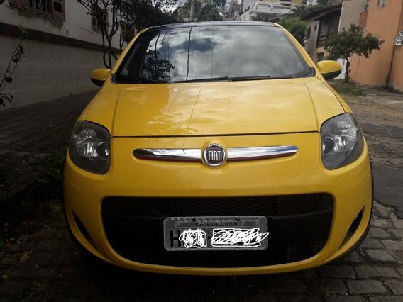 Palio Sporting Cor Amarelo Mod 2012 Completo 16v Flex 4p Man