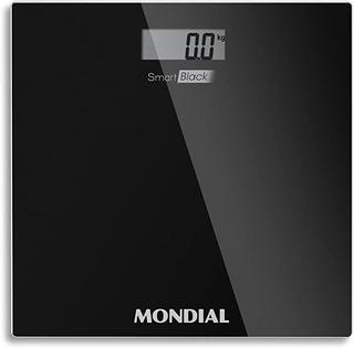 Balança Digital Smart Black Mondial Cap 150 Kg -bl-05 Bivolt