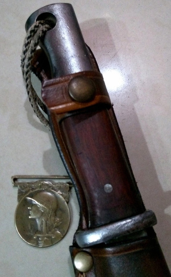 Antiguo Cuchillo Bayoneta Mauser Mod 1935. Daga Puñal. Sable