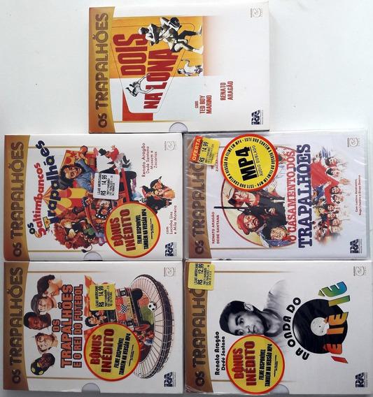 Lote Dvds Os Trapalhões 2 - Filmes