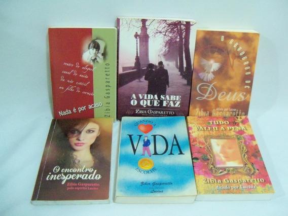 Lote Livros 2- Zibia Gasparetto Vários Títulos Seis Volumes