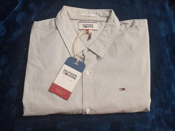 Camisa Hilfiguer Denim Talla L