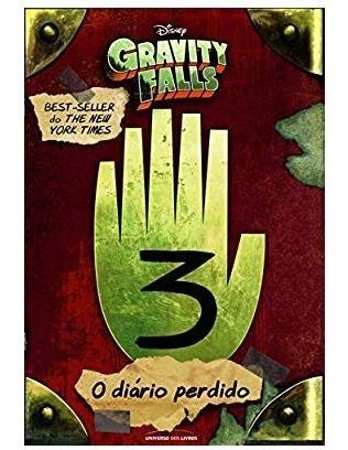 Livro O Diário Perdido De Gravity Falls - Capa Dura Ed. Luxo