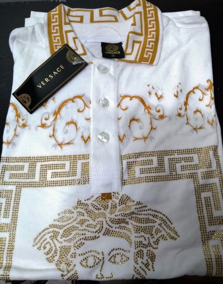 Playera Tipo Polo Versace