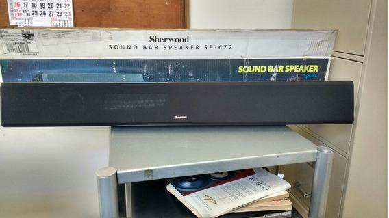 Caixa Central Tipo Sound Bar Sherwood Usa