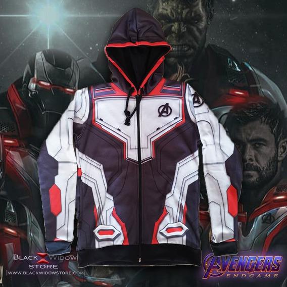 Hoodie Sudadera Avengers Endgame Black Widow Store Marvel