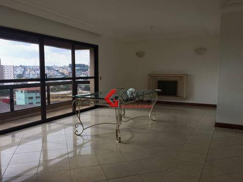 Apartamento Com 4 Dormitórios À Venda, 189 M² Por R$ 900.000,00 - Rudge Ramos - São Bernardo Do Campo/sp - Ap2007