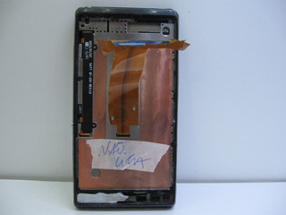 Celular Sony Xperia L C2104 Não Liga Sem Tela Sem Garantia