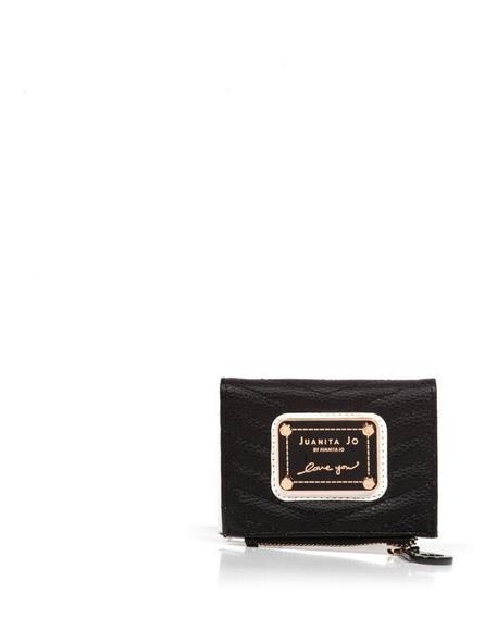 Billetera Juanita Jo Mini Brand (negro - 30044 )
