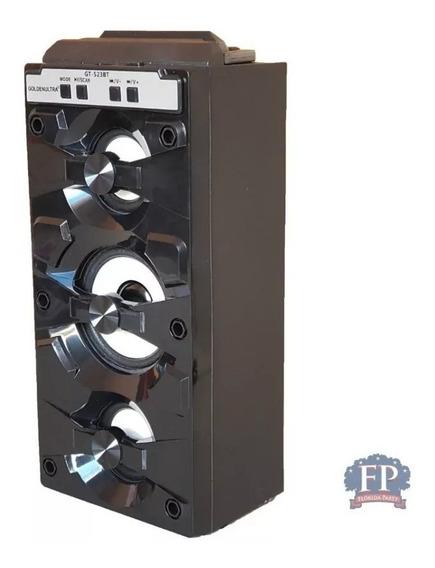 Caixa Som Amplificada Bluetooth Usb Fm- Promoção Blackfriday