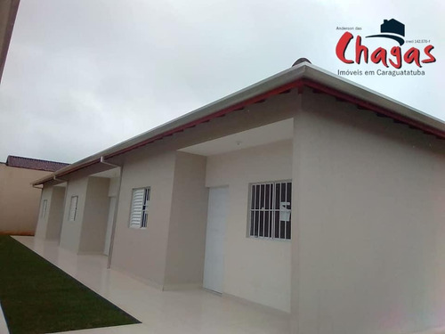 Casa Nova Em Condomínio Horizontal, Pontal Santa Marina, Caraguatatuba - 1519