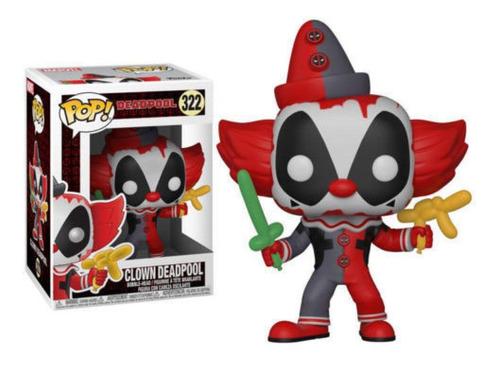 Funko Pop Marvel Playtime Deadpool Clown Payaso