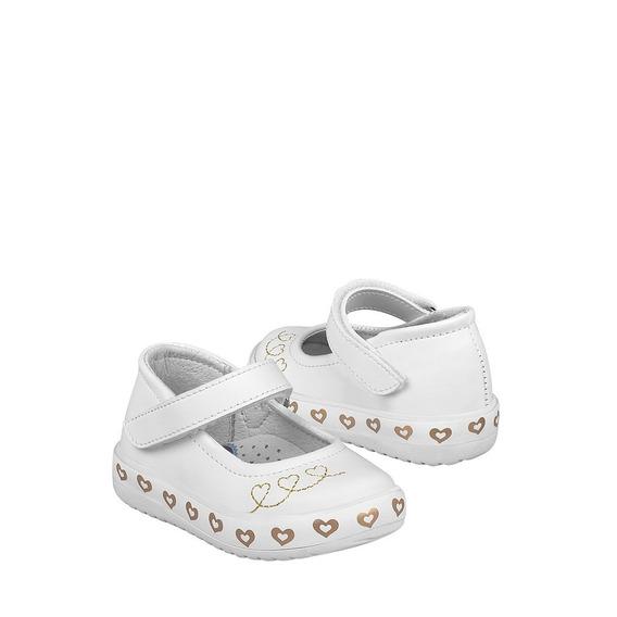 Zapatos Clásicos Para Niña Lucho 923 Blanco