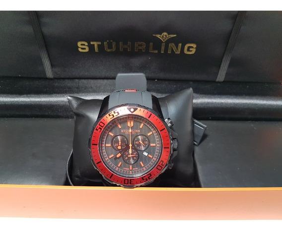Relógio Suíço Masculino Stührling Original De Coleção