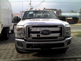 Ford 2016 F-350 6.3l Xl 6.2 Plataforma Cabina Regular Credit