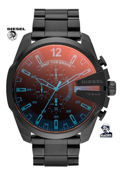 Reloj Diesel Mega Chief Dz4318 En Stock Original Nuevo Caja